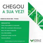 VAGA VORAZ Dev WEB-PYTHON